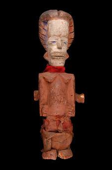 Statuette anthropomorphe janus