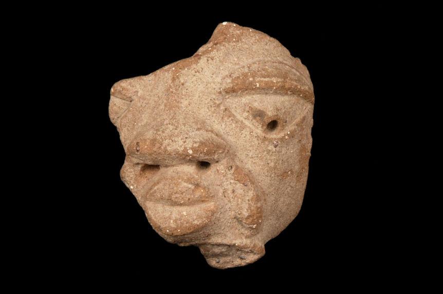 Tête anthropomorphe (fragment)