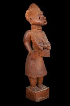 Statuette féminine