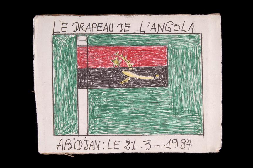 Dessin : Le drapeau de l'Angola
