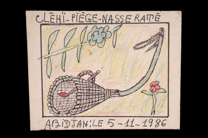 Dessin : Cléhï-piège-nasse raté