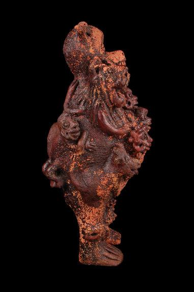 Sculpture anthropo-zoomorphe