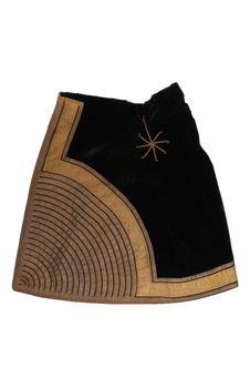 Costume d'apparat de femme juive : jupe