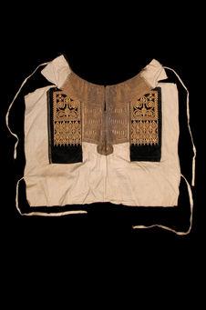 Costume d'apparat de femme juive : plastron