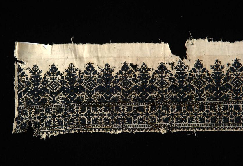 Fragment de rideau