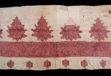 Fragment de nappe ou de rideau