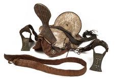 Selle de chameau et ses accessoires