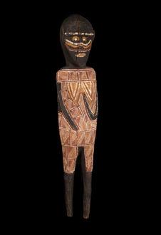 Sculpture anthropomorphe féminine