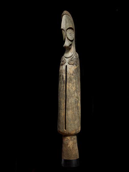 Tambour de bois à fente
