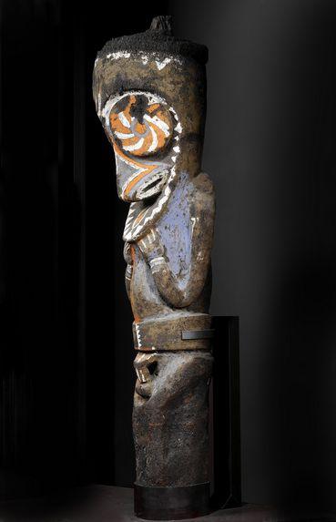Sculpture de grade