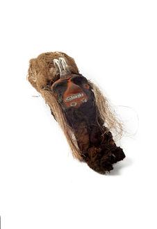 Sculpture anthropomorphe (tête)