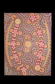 """Peinture acrylique """"Rêve de la fourmi volante&quot"""
