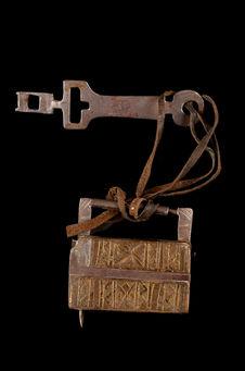Cadenas et sa clef