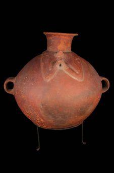 Vase à décor anthropomorphe