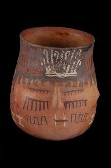 Vase céphalomorphe