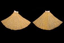 Costume de femme juive : paire de manches