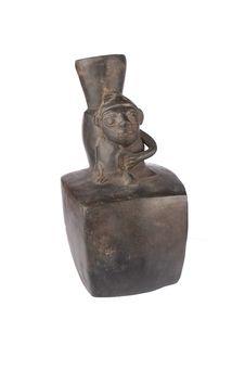 Vase à décor anthropomorphe: homme
