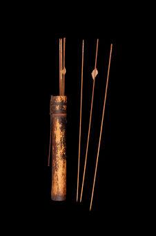 Carquois et flèches