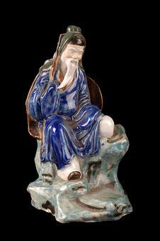 Figurine représentant un ermite