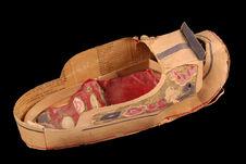 Chaussure en papier à brûler pour les morts