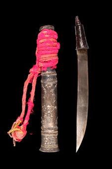 Couteau et étui