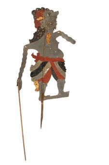 Figure d'ombres : comique Bara Ketiga