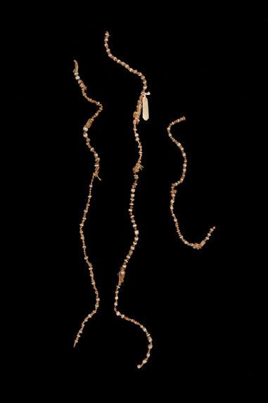Monnaie à perles espacées (fragmentée)