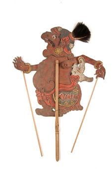 Figure d'ombres : grotesque Delem (Semar)