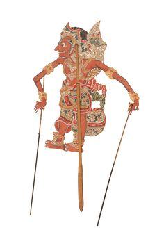 Figure de théatre d'ombres: Durjadana