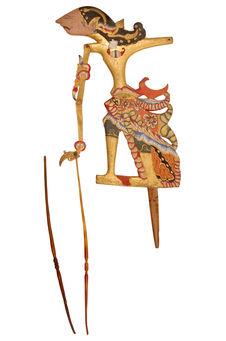 "Marionnette de ""wayang kelitik"" : Raden Sito"