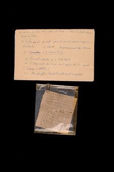 Fragment de manuscrit, talisman