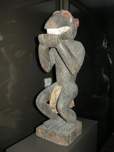 Statue zoomorphe