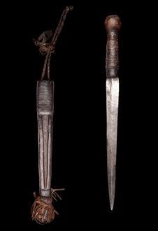 Couteau et gaine