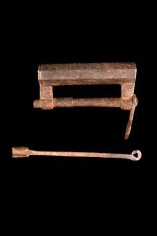 Cadenas avec sa clé