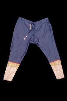 Costume de femme juive : pantalon