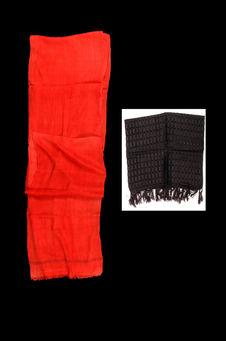 Costume de bédouine : voile et bandeau