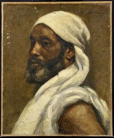 Portrait de nègre marocain