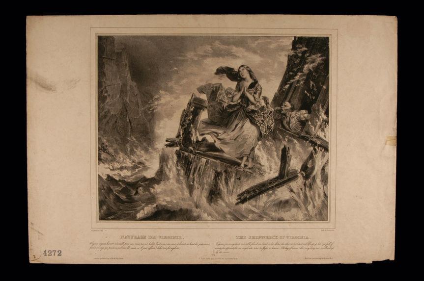 Naufrage de Virginie / The Shipwreck of Virginia