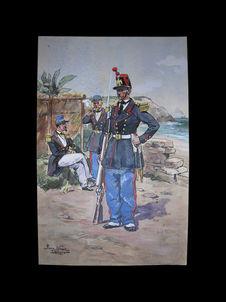 Infanterie de Marine, 1860