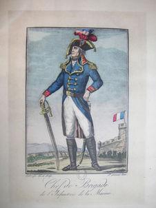 Chef de brigade de l'Infanterie de marine, 1792