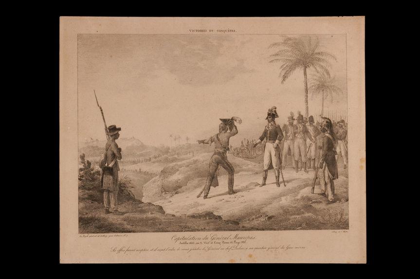 Capitulation du Général Maurepas