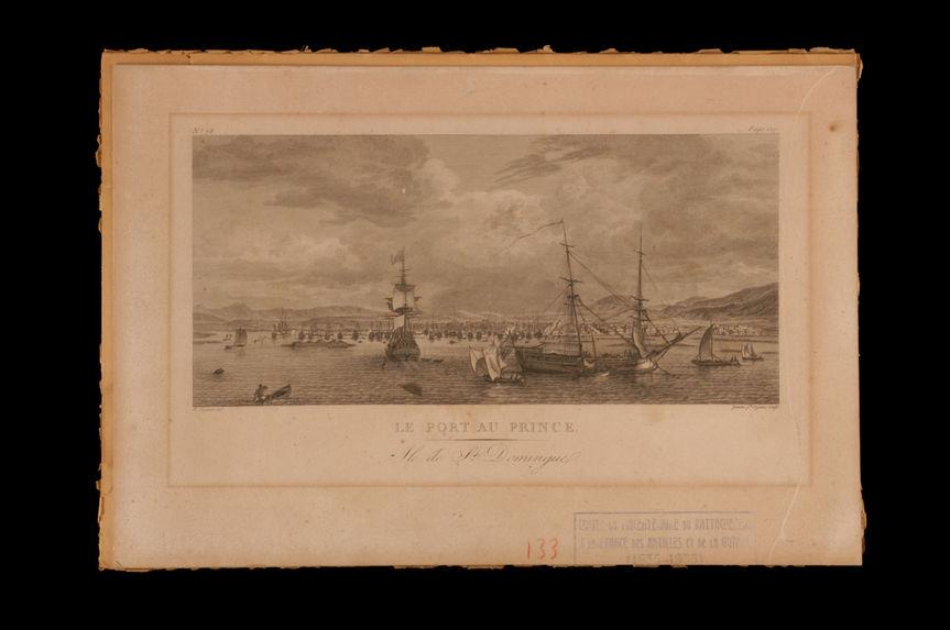 Le Port au Prince. Ile de St Domingue