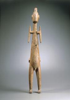 Sculpture anthropomorphe du dieu Rao