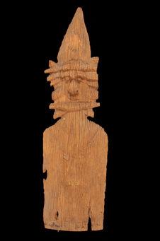 Fragment de planche d'étagère à divination