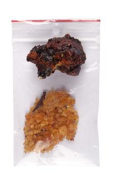 Gomme de faux acacia