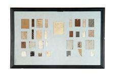 Tableau d'échantillons de tapa