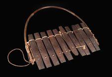 Xylophone portatif