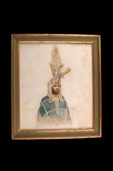 Portrait du roi de Kaffa