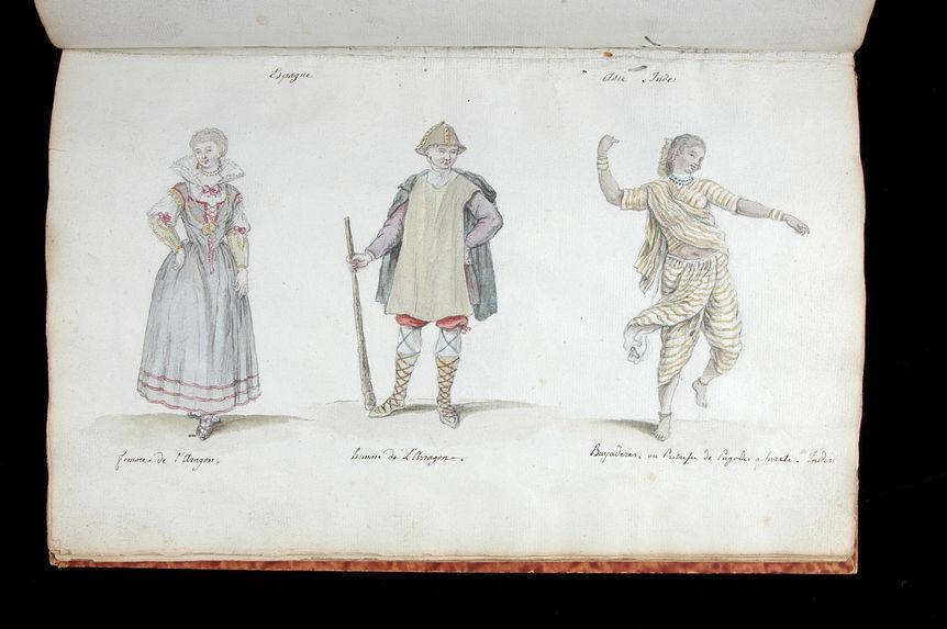 Costumes du monde