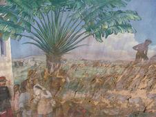 Diorama : Scène coloniale